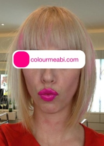 colourmeabi.com Abi Bovary Hair retrospective bleach dye allergy reaction
