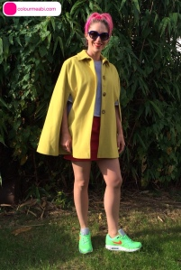 colourmeabi.com lime Nike-red ASOS skirt-Helene Berman yellow cape-grey edit sweatshirt 1