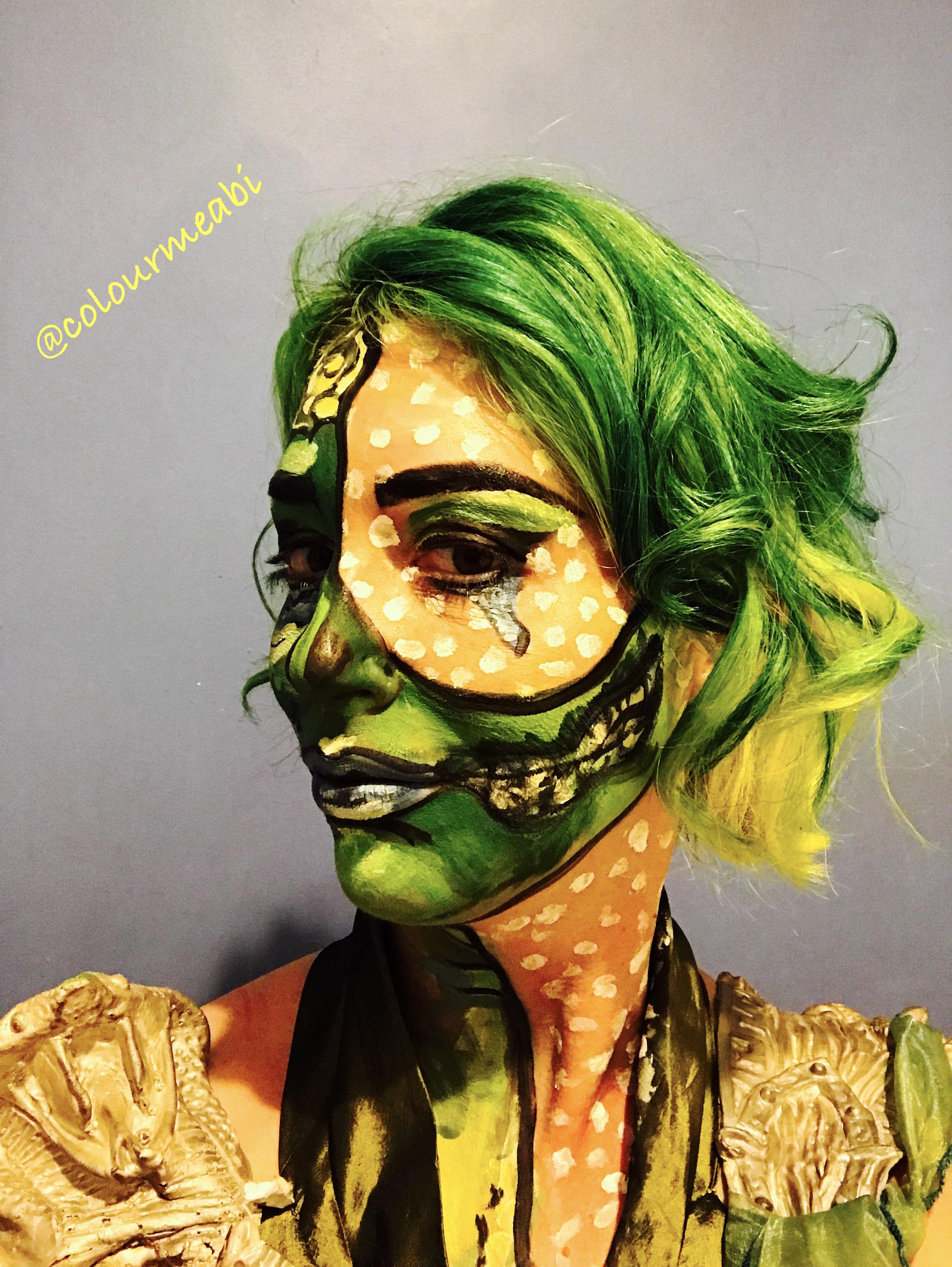 Roy Lichtenstein Halloween Costume.Homage Roy Lichtenstein Pop Art Halloween Costume Fancy
