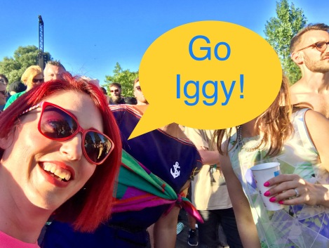 Colourmeabi Go Iggy Pop qosta finsbury park june 2018